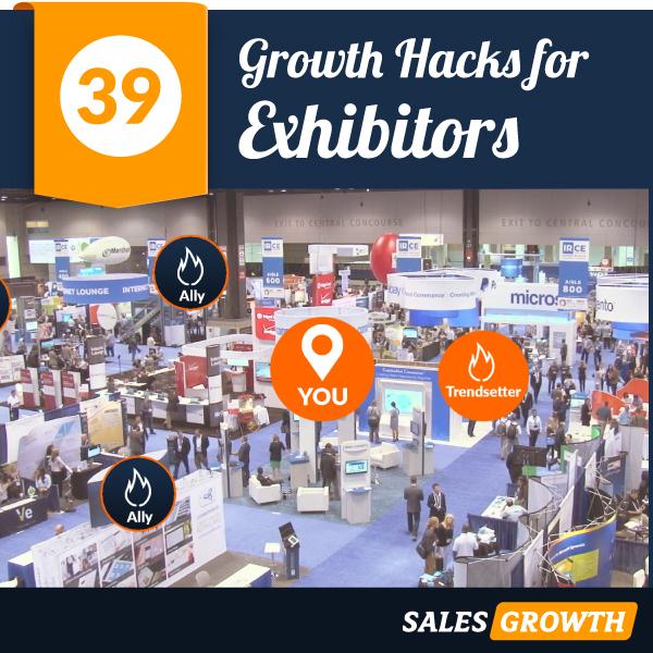 exhibitors 39 growth hacks