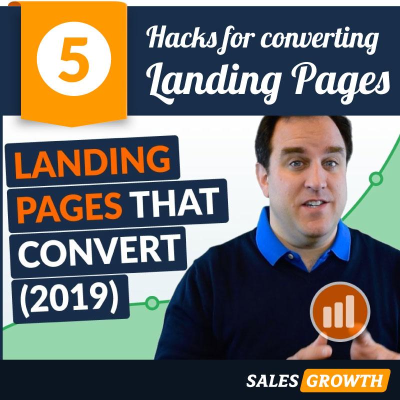landing pages 5 hacks conversion